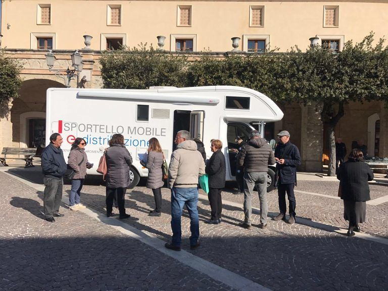 Rimborsi blackout elettrico: il camper di Enel viaggia ancora in Abruzzo