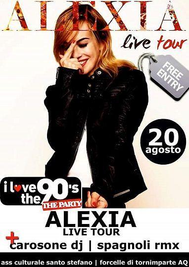 Tornimparte, Alexia in concerto per la Festa del Contadino