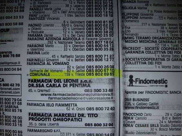 """Giulianova, il Comune replica a Cibej: """"Nessun rebus per la farmacia"""""""