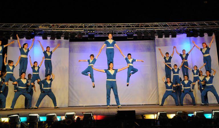 Montesilvano, al Teatro del Mare le danze acrobatiche di Nomadelfia