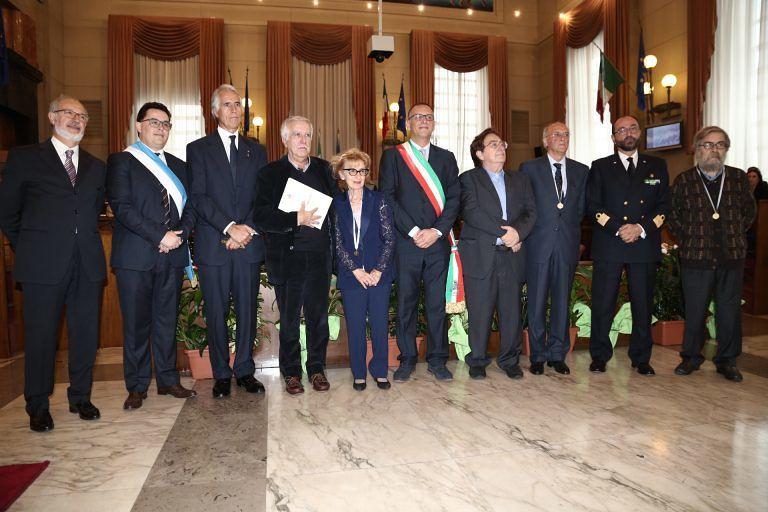 Pescara, Cerimonia di San Cetteo: consegna delle benemerenze civiche