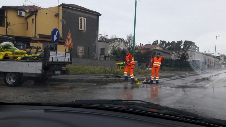 Pescara, allarme fiume rientrato: condizioni e fruibilità degli edifici pubblici