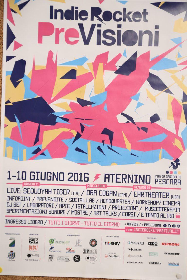 Pescara, dieci giorni di eventi aspettando l'IndieRocket Festival