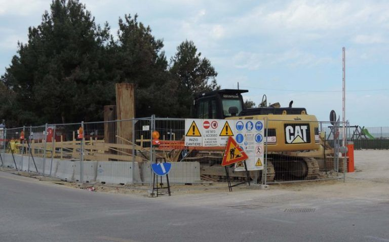 Pescara, Commissione Vigilanza sul cantiere di via Celommi