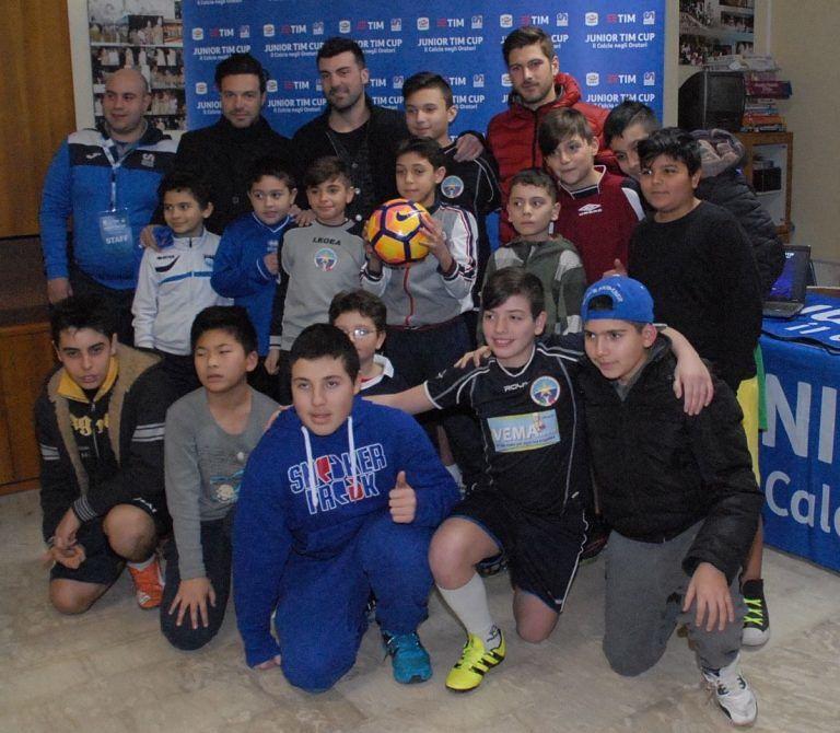 Pescara Tim Cup: gli under 14 incontrano Bovo e Vitturini