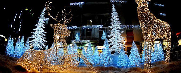 Dopo Salerno e Torino, anche a Pescara le Luci d'Artista per Natale