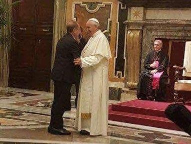 Anche al Lilt di Pescara all'udienza da Papa Francesco