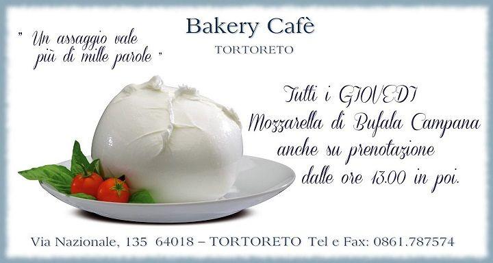 Al Bakery Cafè di Tortoreto arriva la vera Bufala Napoletana