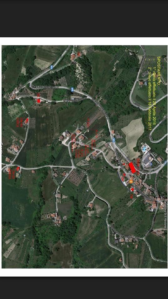 Frana di Ponzano: la terra si è mossa fino ad 8 metri e mezzo