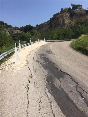 Scafa-Turrivalignani: 170mila euro per ricostruire la strada franata