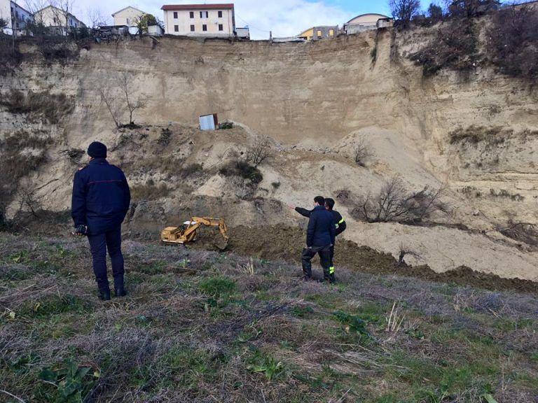 Campli, frana di Castelnuovo: allo studio la messa in sicurezza della frazione VIDEO