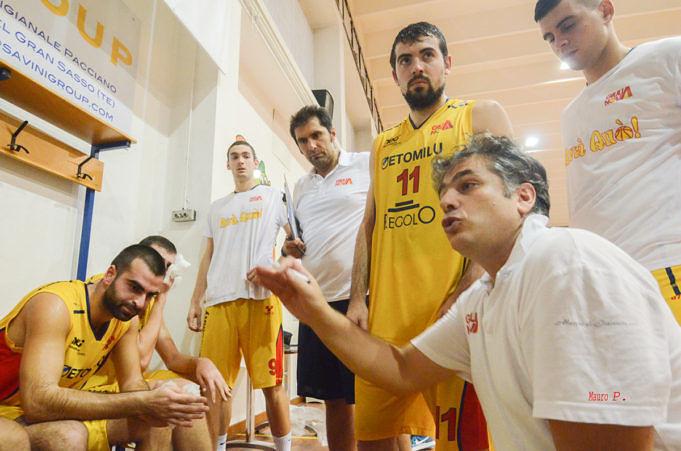 Basket, Giulianova ospita Rimini: la partita più importante della stagione