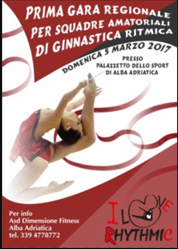 Alba Adriatica, al palasport la prima gara di ginnastica ritmica amatoriale