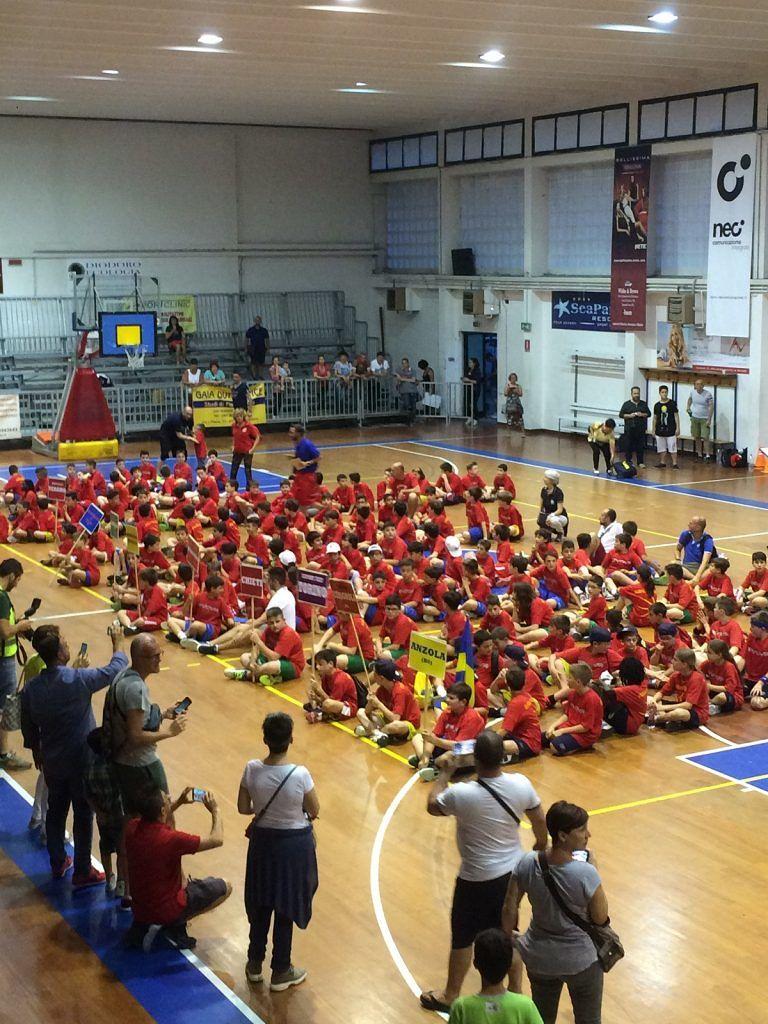 Giulianova, Giuglio basket 2016 con 44 gare in 4 giorni