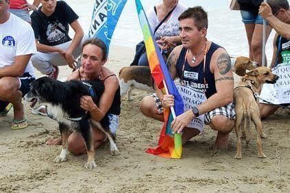 Giulianova, cani in spiaggia: 'fieri di essere denunciati da un sindaco che non rispetta le legge'