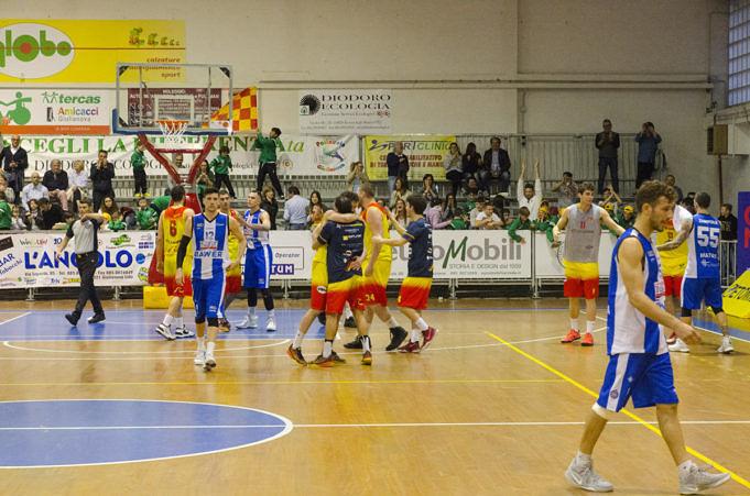 Basket, Giulianova schiaccia Matera