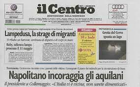 """Nubi sul futuro del quotidiano """"Il Centro"""""""