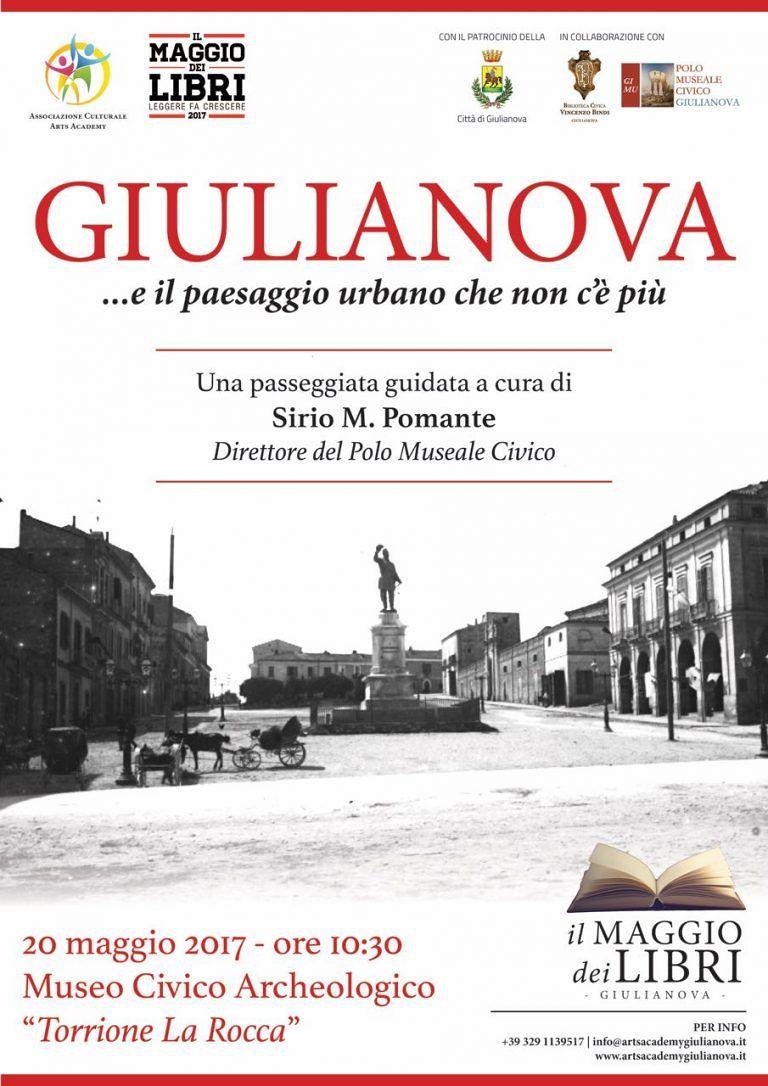 Giulianova, passeggiata al Centro Storico per il Maggio dei Libri
