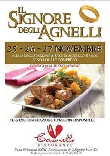 'Il Signore degli Agnelli' – Don Casorello |25-26-27 novembre| Sant'Egidio alla Vibrata