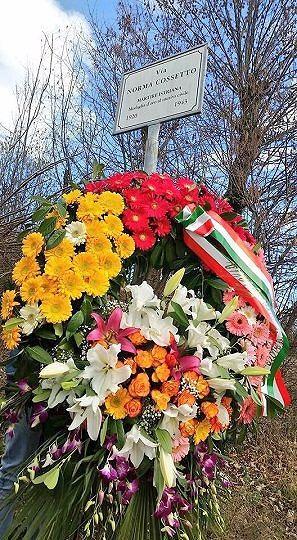 L'Aquila, Giorno del Ricordo: corona in via Norma Cossetto
