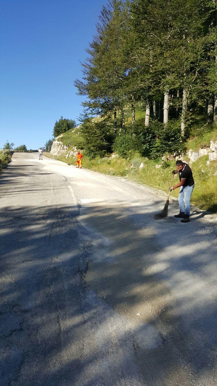 Penne, riapre la strada provinciale fino a Rigopiano
