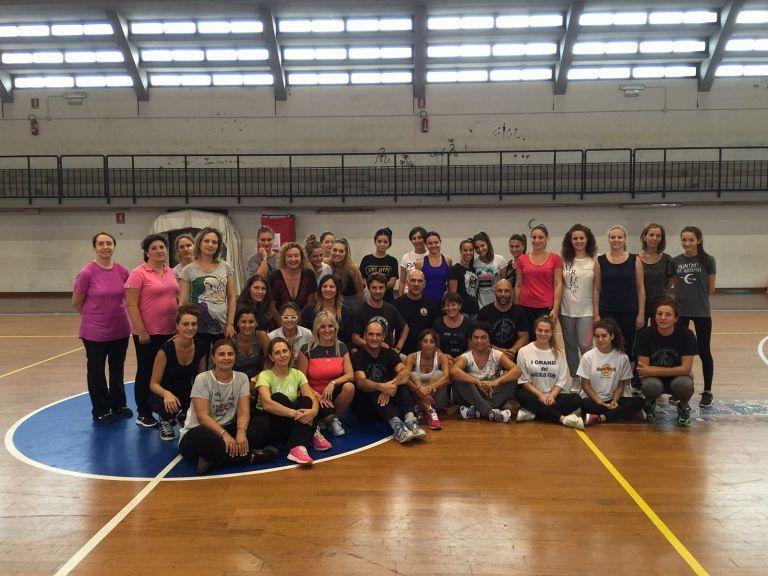 Giulianova, 40 partecipanti allo stage di autodifesa femminile FOTO