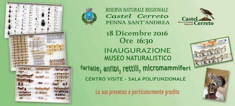 Penna Sant'Andrea, arriva il Museo Naturalistico