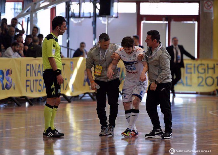 Calcio a 5, Finale Eight: l'Acqua & Sapone si ferma subito contro il Kaos