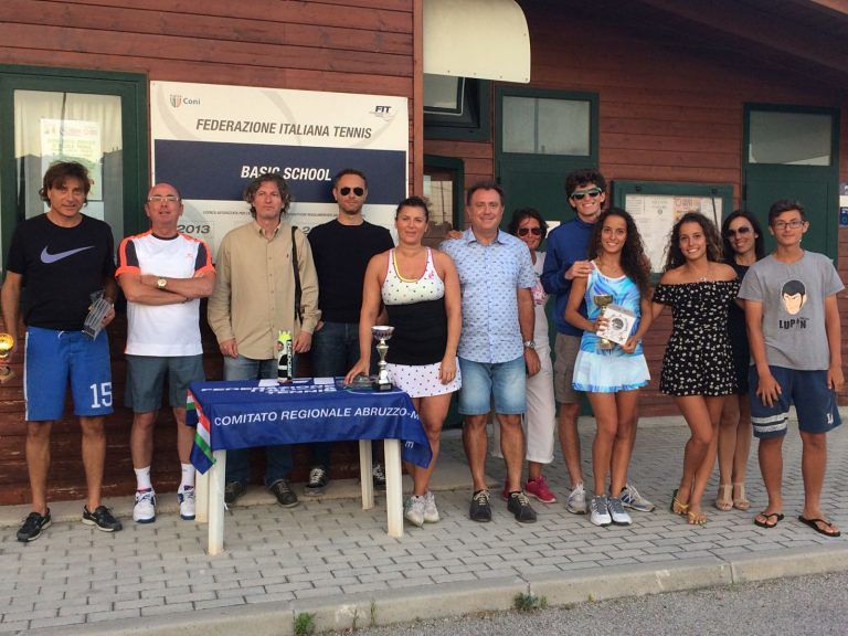 Ruggeri e Bellante vincono il Torneo Nazionale Estate 2017 del Circolo Tennis Silvi