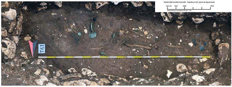 Pizzoli, rinvenuta sepoltura femminile dell'età del bronzo