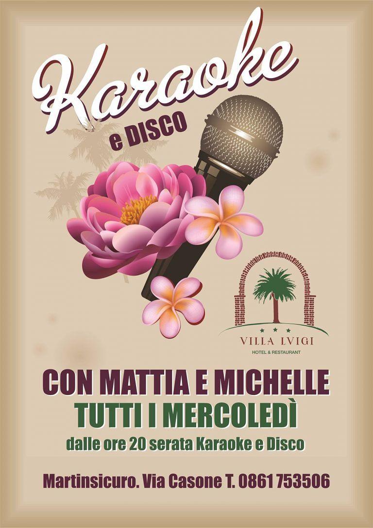 Hotel Villa Luigi: il mercoledì serata karaoke | Villa Rosa di Martinsicuro