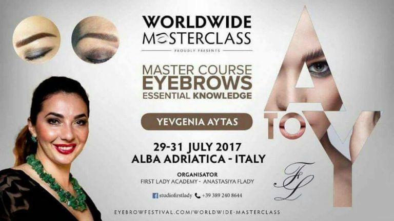 First Lady Academy: nuovo corso professionale. Le sopracciglia dalla A alla Z | Alba Adriatica