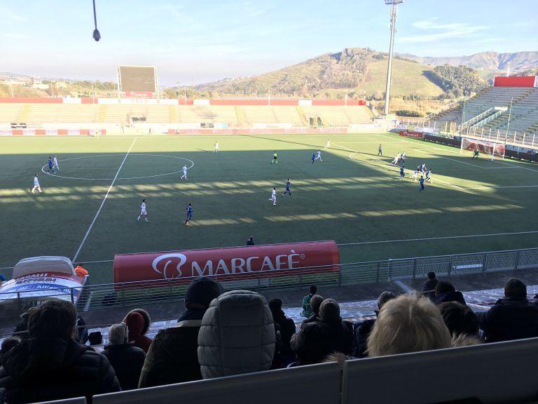 Serie D, il San Nicolò batte la Sammaurese (1-0) e sale al secondo posto