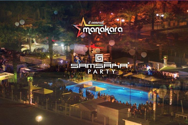 Manakara Beach Club: venerdì 23 giugno Samsara official party con dj Danilo Secli Tortoreto