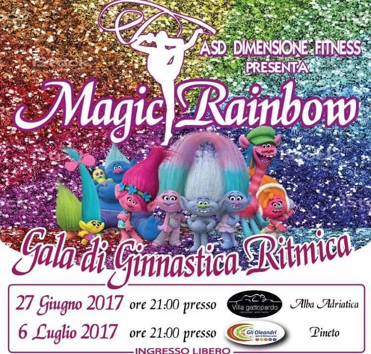 Magic Rainbow: Galà di Ginnastica Ritmica Alba Adriatica e Pineto