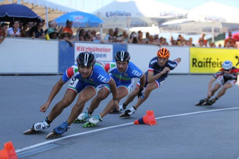 Europei Pattinaggio corsa, tre medaglie in tre giorni per il giuliese De Flaviis