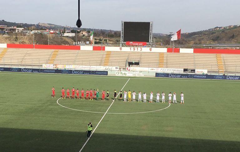 Serie D, finisce 1-1 il derby tra San Nicolò e Pineto