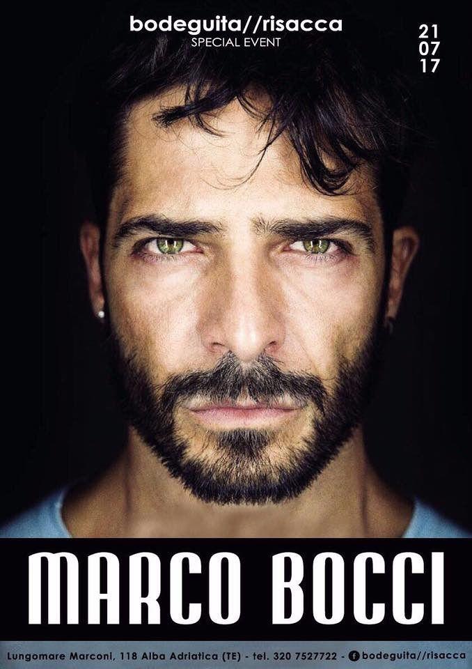 Bodeguita&Risacca: ospite di questa sera l'attore MARCO BOCCI  Alba Adriatica