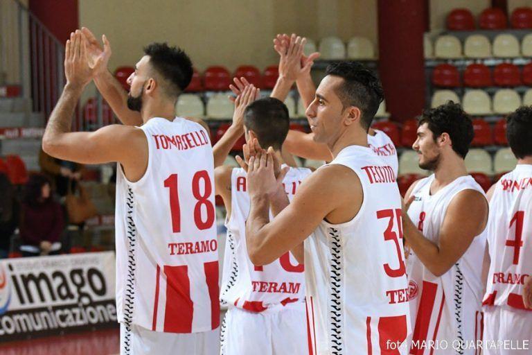 Basket serie B, La Meta Teramo punta i playoff