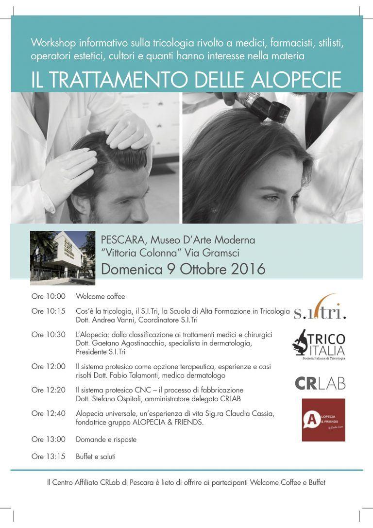 Pescara, la salute dei capelli: workshop con gli esperti del settore