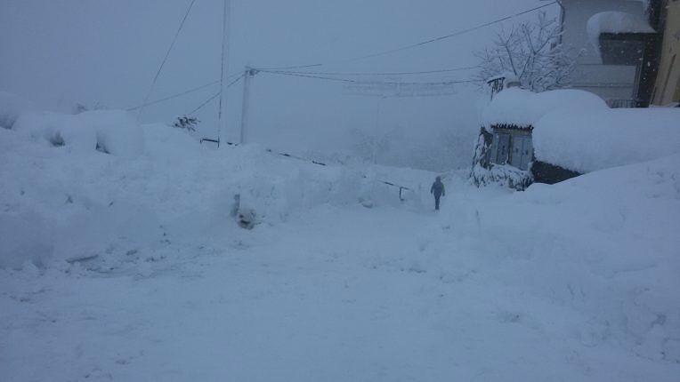 Maltempo Abruzzo: ora il rischio sono le valanghe