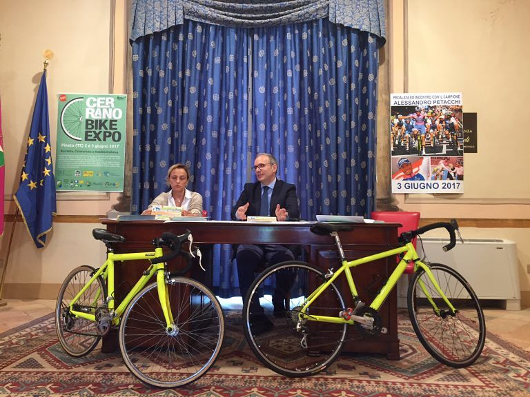 Biciclettata, Petacchi e il brodetto pinetese per il ponte del 2 giugno