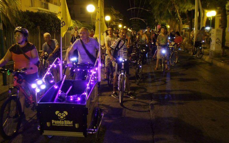 Pescara, in tanti alla 'Notte delle biciclette'