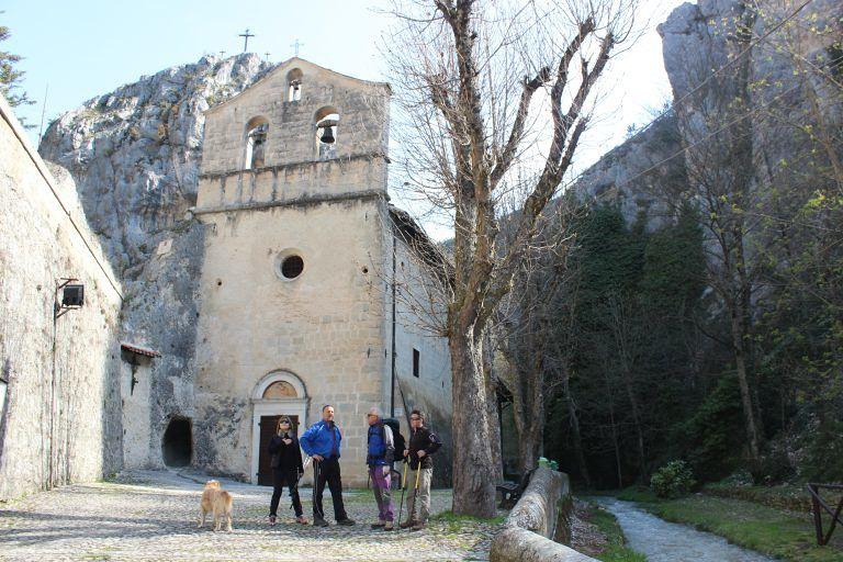 Valle della Madonna d'Appari, inaugurazione dei sentieri di Paganica