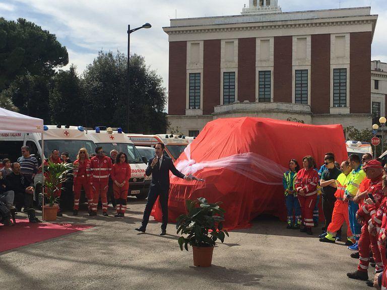 Pescara, nuova ambulanza per la Croce Rossa