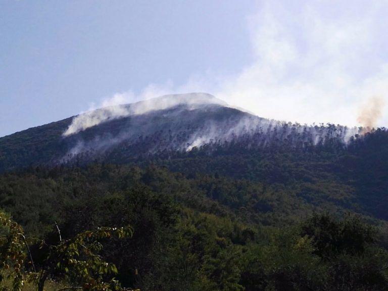Civitella, 15 ettari in fumo sulla Montagna di Campli FOTO VIDEO