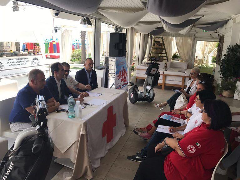 """A Pescara presentato """"Estate sicura 2017"""", il servizio della Croce Rossa Italiana (Fotogallery)"""