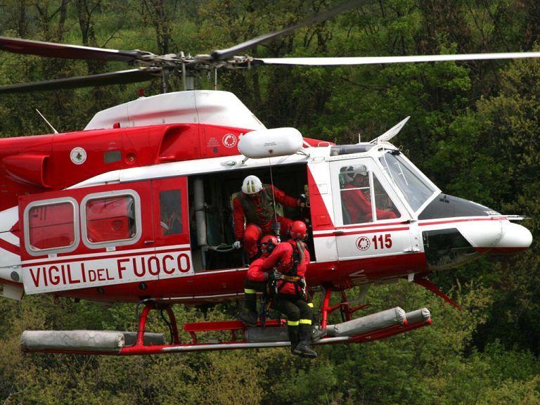 Roccamorice, turista precipita durante escursione: salvato con l'elicottero