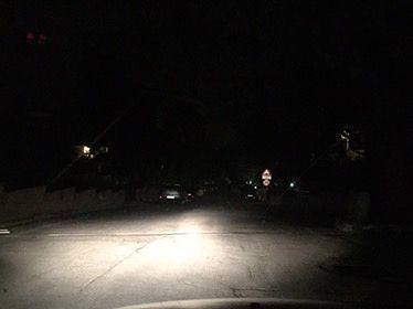 Teramo, blackout serale a Villa Mosca
