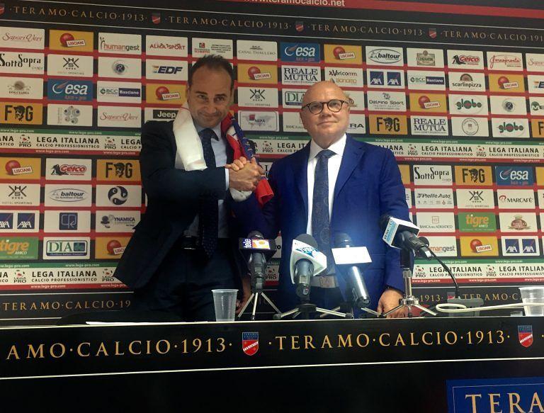 """Teramo Calcio, inizia l'era Lupo: """"Sognare coi piedi per terra"""""""